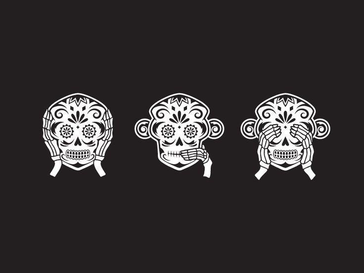 The Monki skulls were created for Test Monki's Halloween giveaways back in 2013.