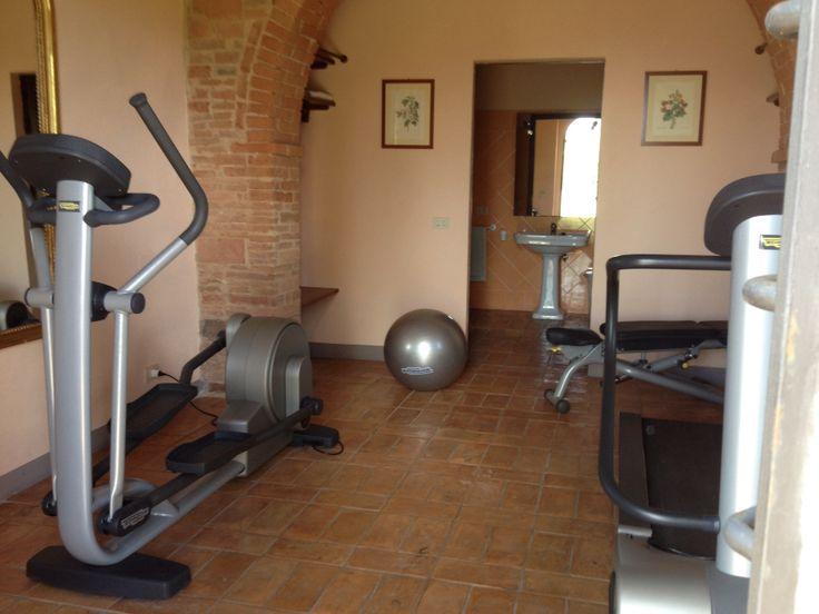 private gym in Villa Collalto