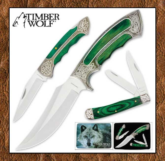 Tribal And Western Impressions Collector's Knives