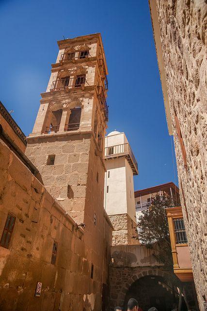 St Catherines Monastery. Sinai peninsula, Egypt