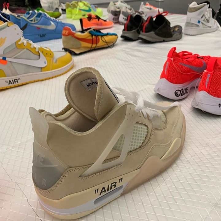 Virgil Abloh Is Displaying Off White X Nike Samples At Mca Chicago
