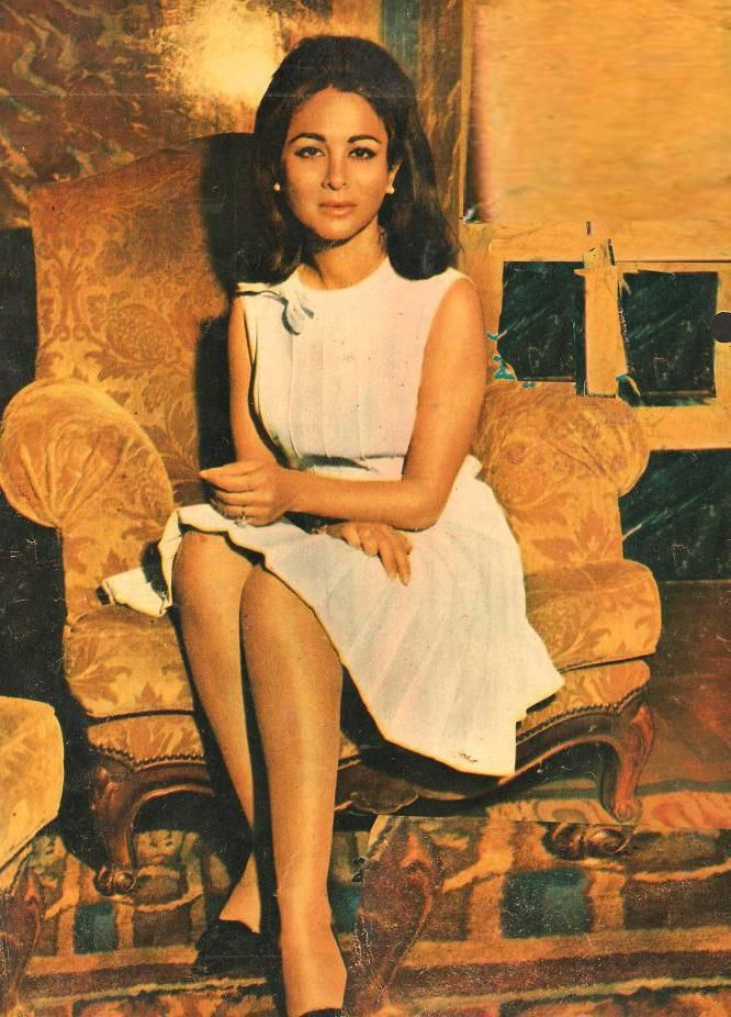 Faten Hamama, egyptian actress, ex-wife of Omar Sharif