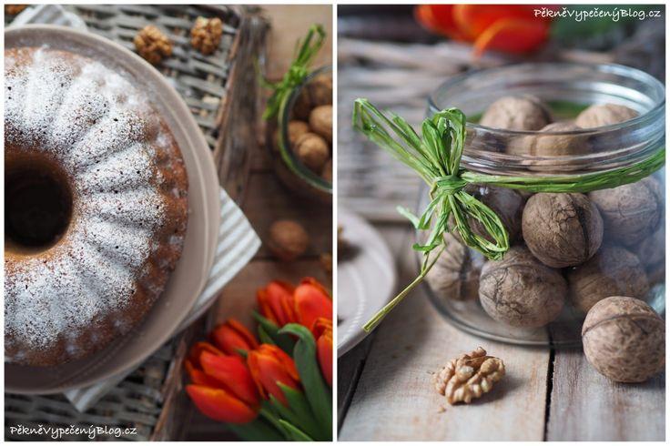 Ořechová bábovka (nuts bundt cakes)