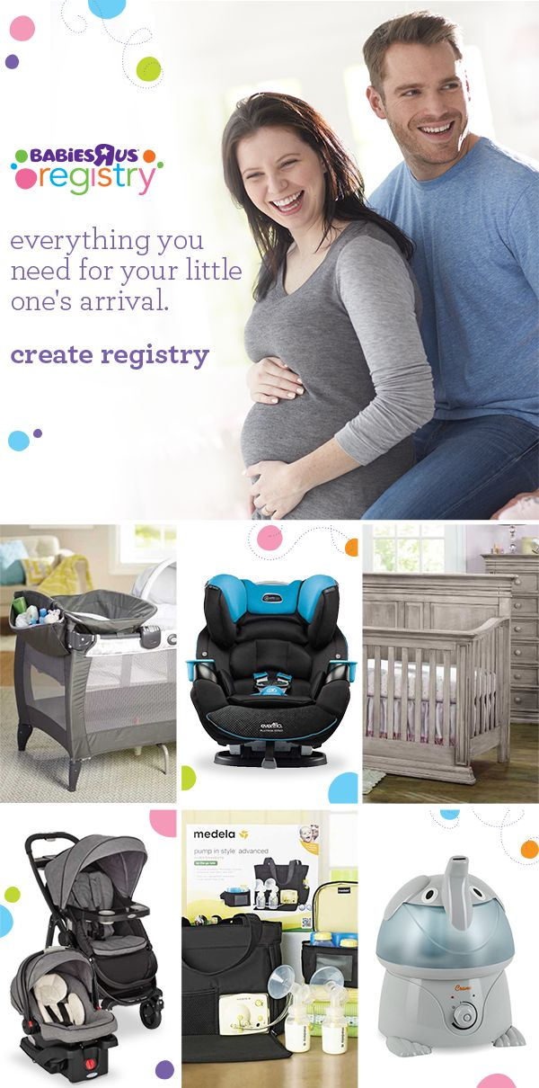 You'll find all kinds of advice on what you need on your baby registry. A cozy bassinet to keep sleeping baby close. A portable swing that goes where you and your happy baby go. Storage place for everything...for everything in its place. Bottle warmers. Wipe warmers. Support for little baby heads. And each one playing a supporting role for new moms and dads everywhere. Sign up for your registry with Babies R Us and you will be well under way with everything you need.