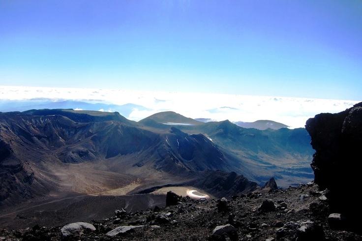 The Tongariro national park - New Zealand
