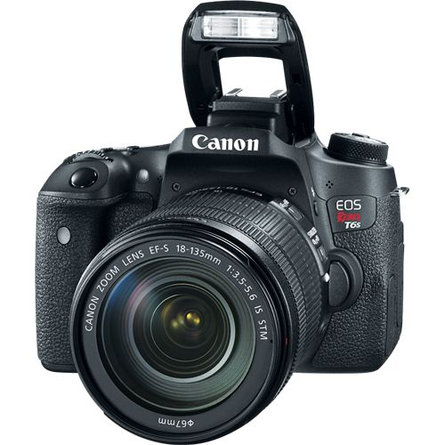Canon ESOS Rebel T6s  http://www.dpreview.com/reviews/canon-eos-760d-rebel-t6s