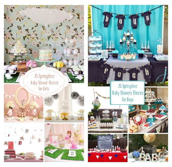 25 Springtime Baby Shower Themes For Boys And Girls
