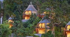 Keemala Eco Resort is an exclusive retreat tucked into the lush vegetation that covers the hilly landscape overlooking the Andaman Sea.