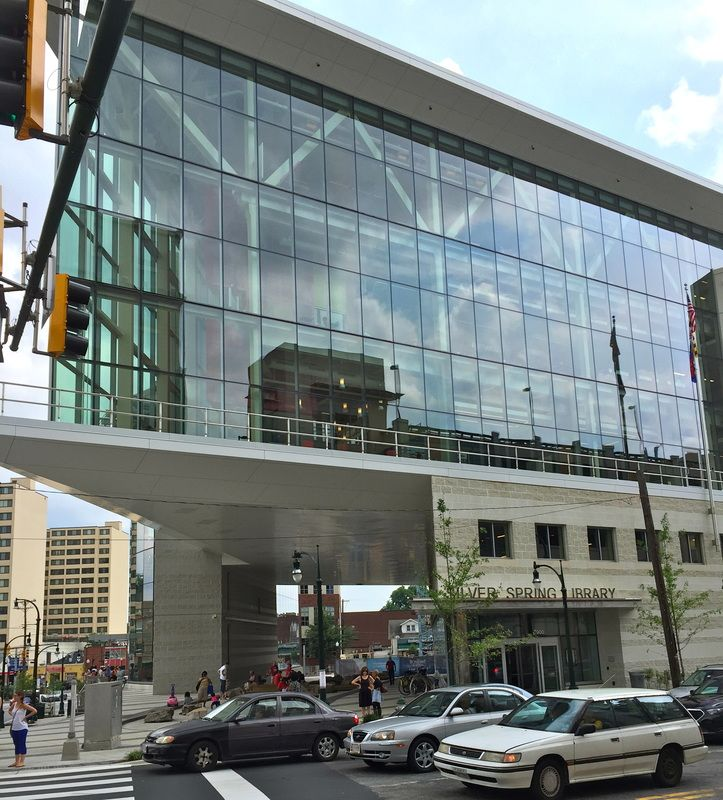 Silver Spring's brand new library!! Doors opened June, 2015