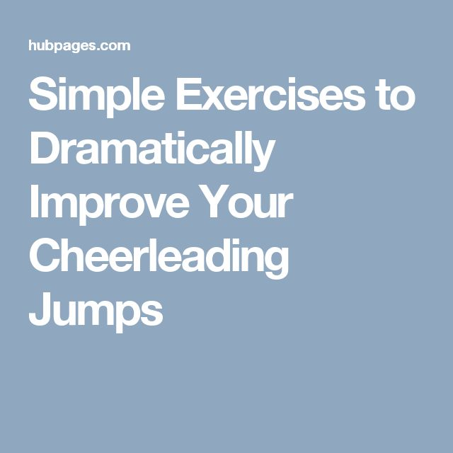 How to Improve Your Cheerleading Flying