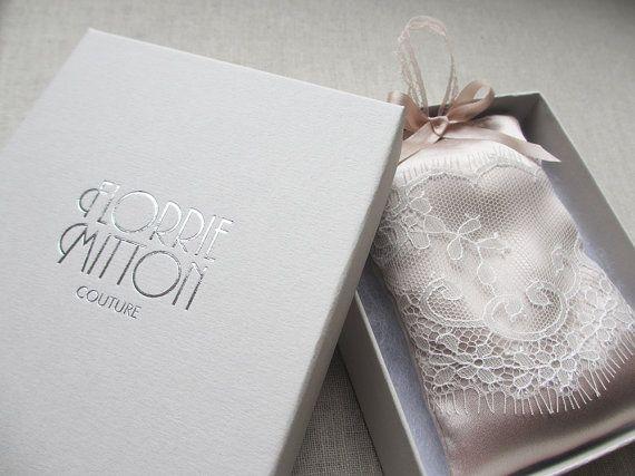 San Valentín el alta costura seda lavanda Bolsa regalo seda regalo de despedida de soltera para su caja de regalo y embalaje de regalo
