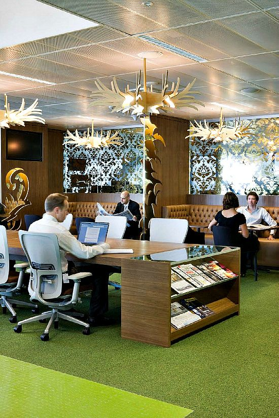 Macquarie Group Sydney Office   Clive Wilkinson Architects + Woods Bagot Architects