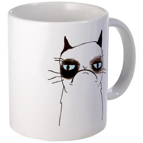Cafe press:The Grumpy Cat Mug