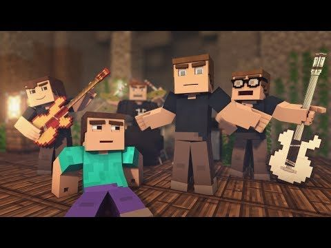 """Mining Ores"" - A Minecraft Parody of OneRepublic's Counting Stars (Music Video)"
