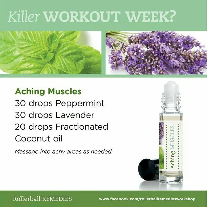 One of my fave aching stressed out need a pick me up but also a calm me down duo- Aching muscles rollerball blend.