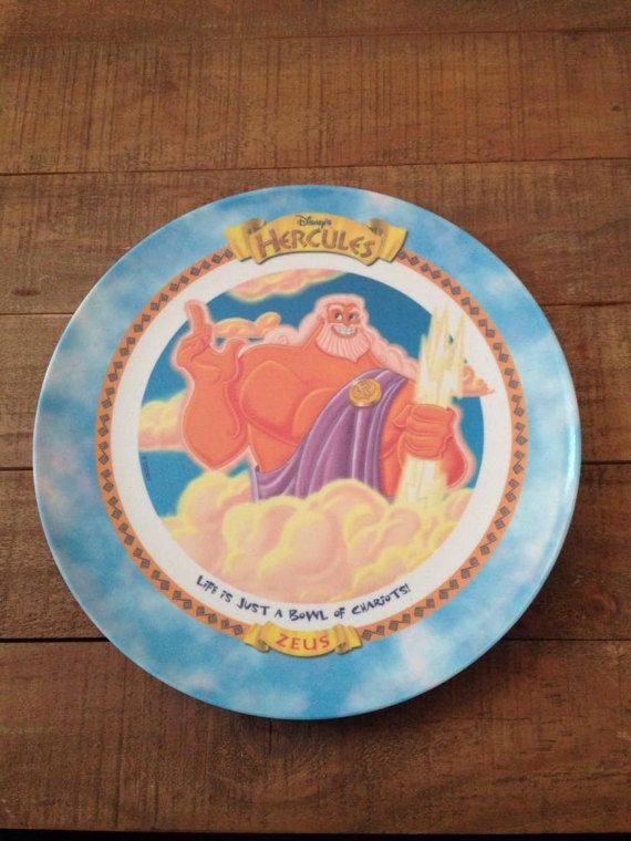 Hey, I found this really awesome Etsy listing at https://www.etsy.com/listing/501289972/zeus-from-hercules-dinner-plate-disney
