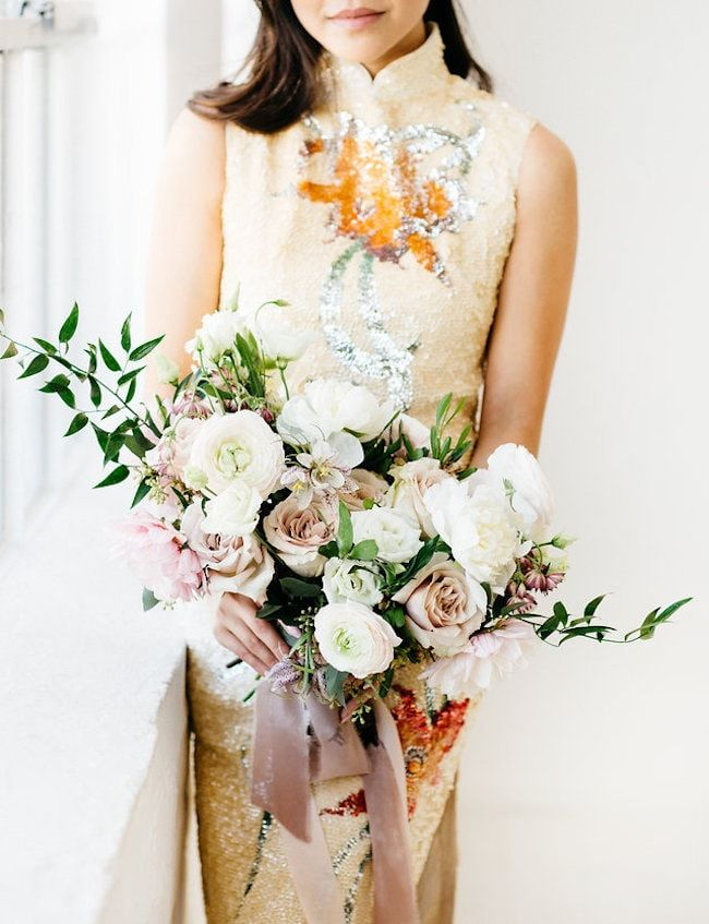 Beautiful Indoor Bridal Session