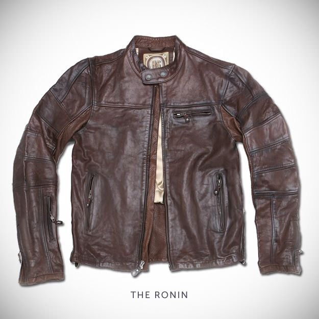 """ The Ronin "" Top 5 Motorcycle Jackets by Silodrome 