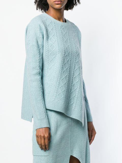84ef3e4c7a6ce6 Pringle Of Scotland cable stitch jumper
