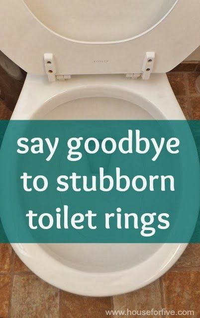 House For Five: Let's Talk Toilet Rings