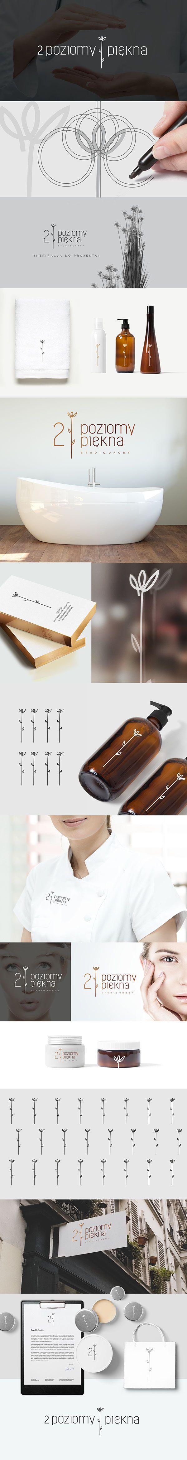 2 POZIOMY PIĘKNA - cosmetic salon on Behance