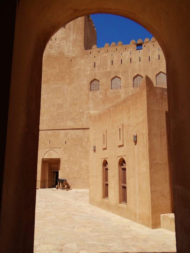 FORTE BAHLA Património Unesco/CASTELO JABREEN-Omã – projecto100rota