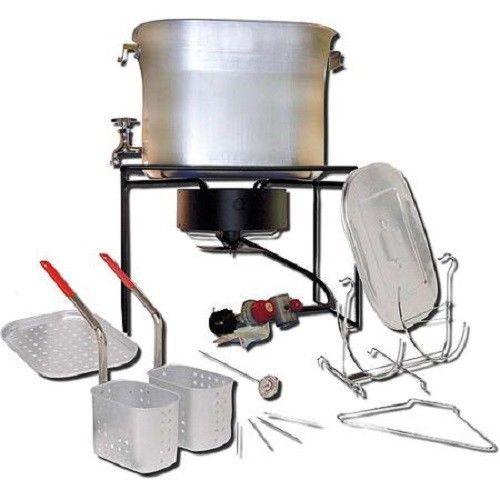 Turkey Fryer Cooker King Kooker 26-Quart Outdoor Propane Deep Fryer  #KingKooker