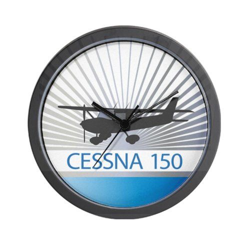 Special Offers - Aircraft Cessna 150 Wall Clock - In stock & Free Shipping. You can save more money! Check It (April 29 2016 at 11:30AM) >> http://wallclockusa.net/aircraft-cessna-150-wall-clock/