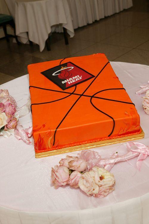 Disney Weddings Miami Heat Cake