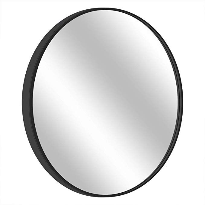 Morigem Round Mirror 25 6a Wall Mirror Wall Mounted Mirror For Bedroom Bathroom Living Room Mirror Bedroom Mirror Mirror Wall
