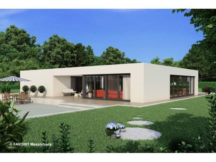 Bungalow modern flachdach ~ Ihr Traumhaus Ideen