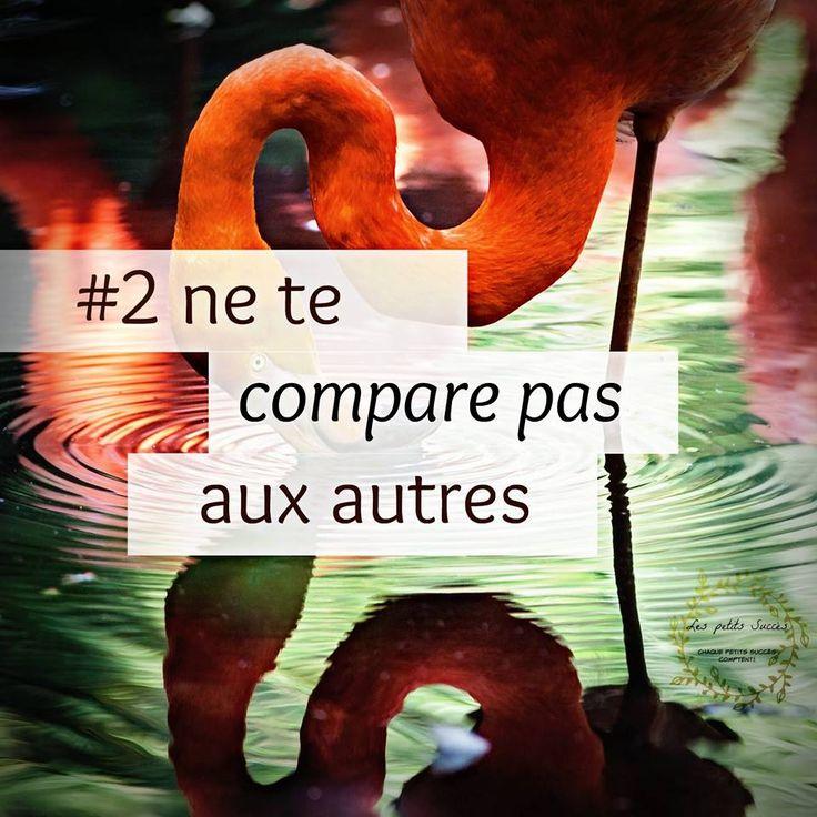 Ne te compare pas aux autres.