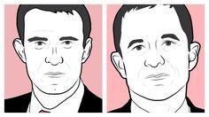 Manuel Valls et Benoît Hamon, candidats à la primaire de la Belle Alliance populaire de janvier 2017.   http://www.liberation.fr/france/2016/12/20/a-gauche-revenu-minimum-decent-ou-revenu-universel-d-existence_1536466