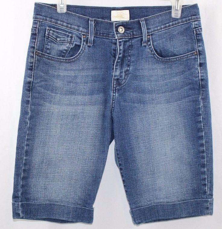 Womens Levi's San Francisco 515 Bermuda Jean Shorts Size 4 #Levis #BermudaWalking