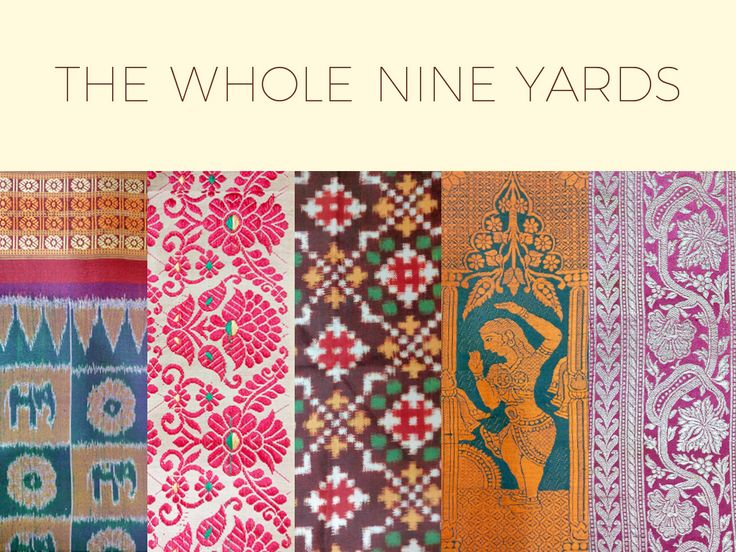 India has a rich tradition of handloom textiles, from cotton ikkat weaves to heavily embroidered Benarasi silk saris.