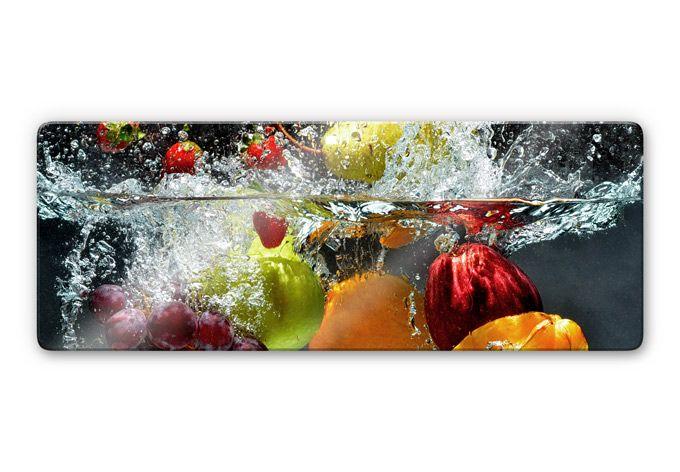 Tableau en verre - Fruits frais - wall-art.fr