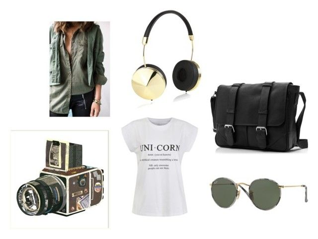 """""""casual saturday's"""" by stephaniejs-1 on Polyvore featuring Ally Fashion, Sounds Like Home, Frends and Ray-Ban"""