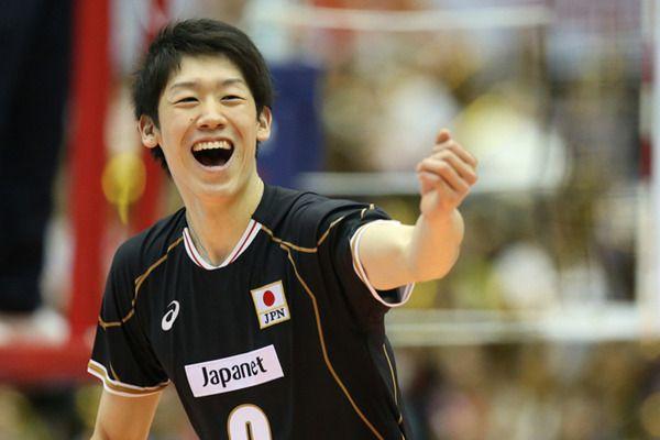 笑顔が可愛い石川祐希。