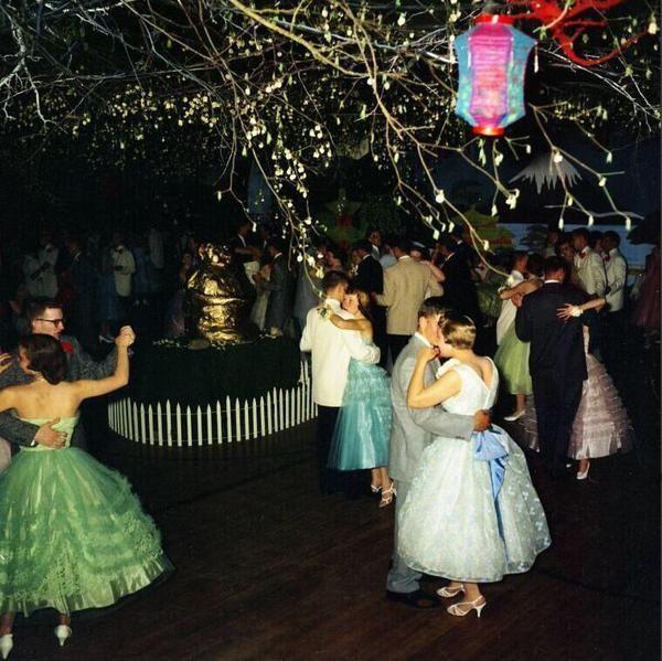 Alta scuola di danza a Chelsea, nel Michigan / 1957;