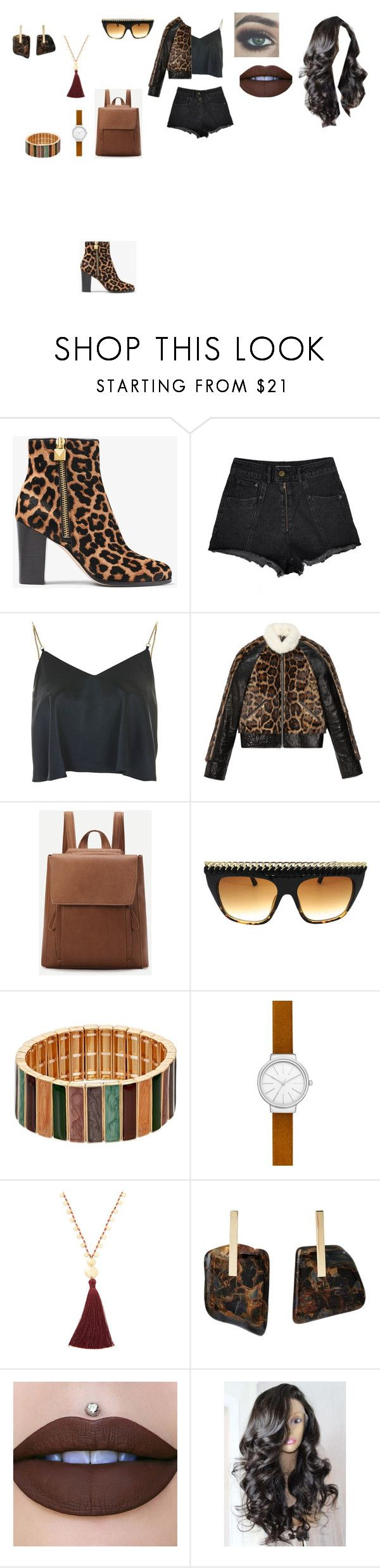 """Casual Outfit"" by helena94-1 on Polyvore featuring MICHAEL Michael Kors, Topshop, Gucci, Skagen, Gorjana, Kathleen Whitaker and polyvorefashion"