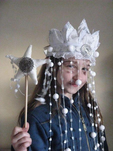 Maschere & Costumi - Corona Regina delle nevi - un prodotto unico di lababajaga su DaWanda