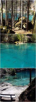 Blausee, Švýcarsko Cestování s dětmi za hranice ČR #dovolena #děti #rodina #výlety #Švýcarsko #Swiss #Rakousko #Austria #Slovensko #cestování #tip3dmamablog