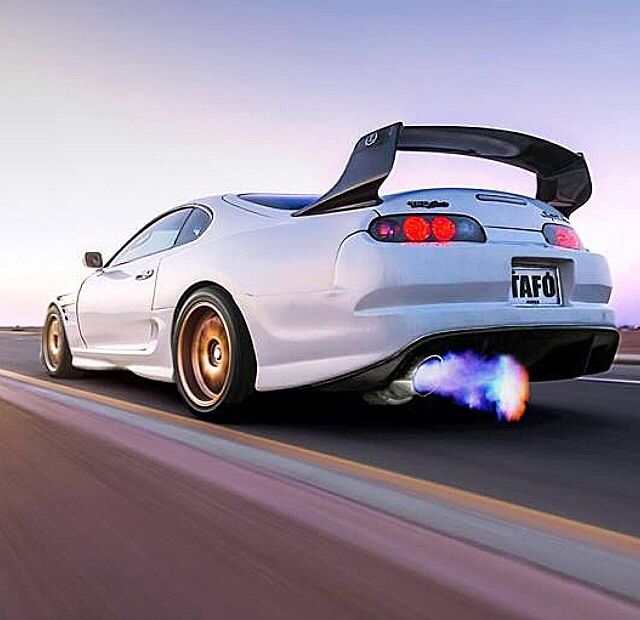 Beautiful Fire Blazing Supra. Toyota Supra Mk4Austin CarsJdm ...
