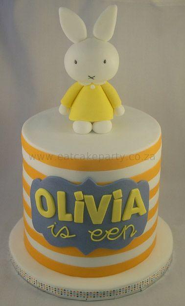 Miffy for Olivia by ♥Dot Klerck....♥, via Flickr