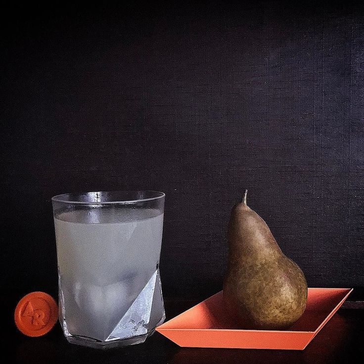 Beurre Bosc Pears are a favorite  cocktail ingredient at Rock HQ. Theyre not too sweet and they carry other flavours really well. Today were featuring a go-to recipe with a quick pear syrup that sings with Rock vodka. #responsibly . {Rock Still Life - channeling our inner Vermeer} . 45mls or 1 and 1/2oz Alaskan Rock Vodka 30mls or 1oz pear syrup 1 bar spoon of @currong_comestibles Riberry Shrub Couple dashes @AustralianBitters Barrel Bitters . Stir everything with ice and strain and pour…