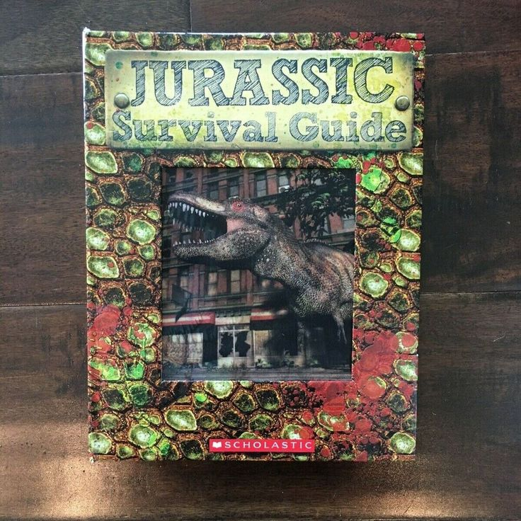 Jurassic Survival Guide Hardback Book by Heather Dakota