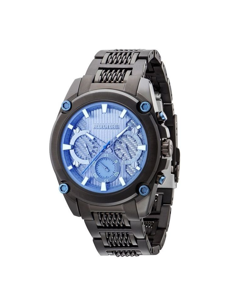 New Police Men Watch MESH UP PL14543JSB13M, 2016 Collection #Police #Sport