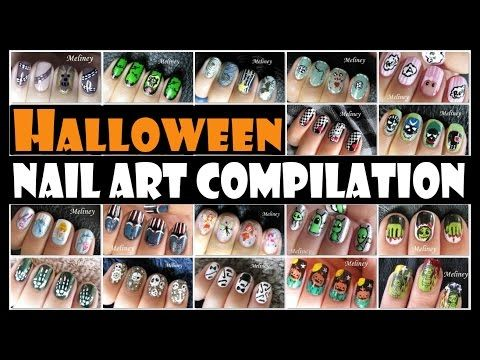 62 best winter nail art designs and tutorials images on pinterest halloween nail art compilation meliney designs http47beauty prinsesfo Gallery