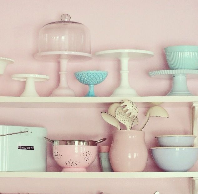 It would be great to finally have somewhere to display all my cake stands.