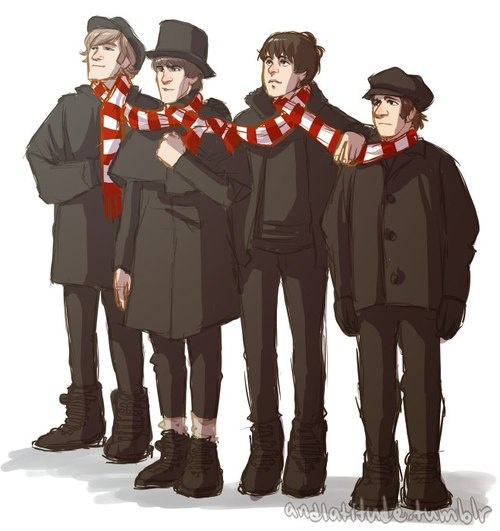 Resultado de imagen para ticket to ride the beatles fanart